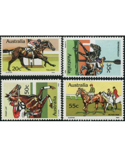 Australia 1978 SG699 Horse Racing set MNH