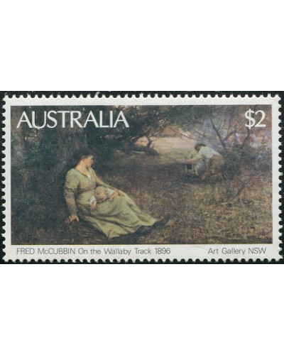Australia 1981 SG778 $2 Wallaby Track painting MNH