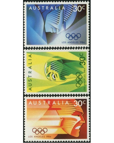 Australia 1984 SG941 Olympic Games Los Angeles set MNH