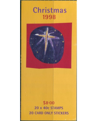 Australia booklet 1998 SG1832 40c Christmas MNH