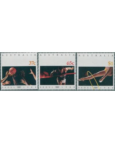 Australia 1988 SG1154-1156 Olympics Seoul set MNH