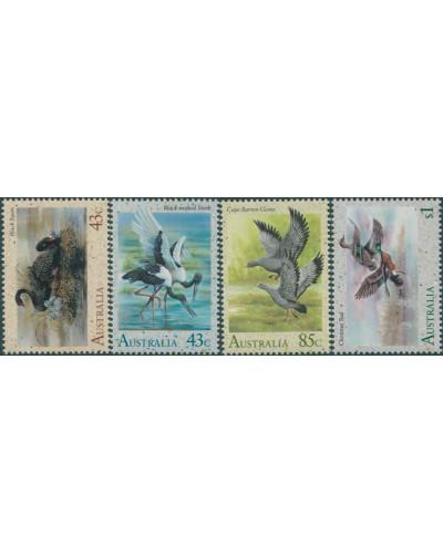 Australia 1991 SG1279-1282 Waterbirds set MNH