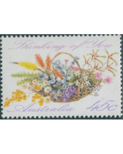 Australia 1992 SG1318 45c Greetings wildflowers MNH