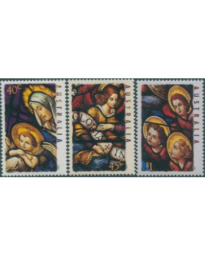 Australia 1995 SG1569-1571 Christmas set MNH