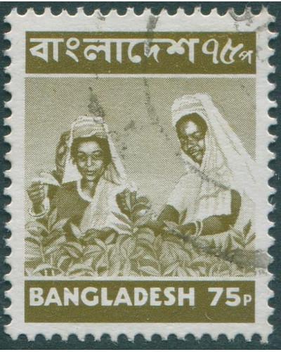 Bangladesh 1973 SG70 75p Plucking Tea FU