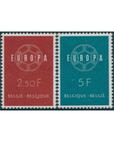Belgium 1959 SG1702-1703 Europa set MNH