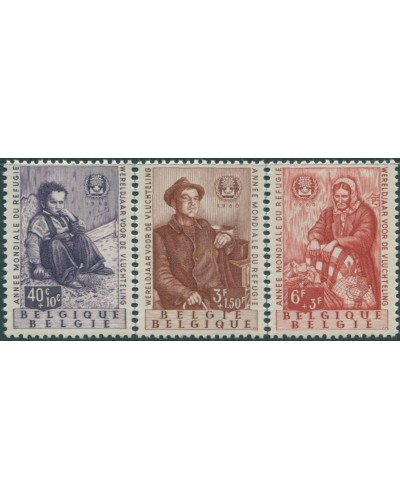 Belgium 1960 SG1719 World Refugee Year MNH