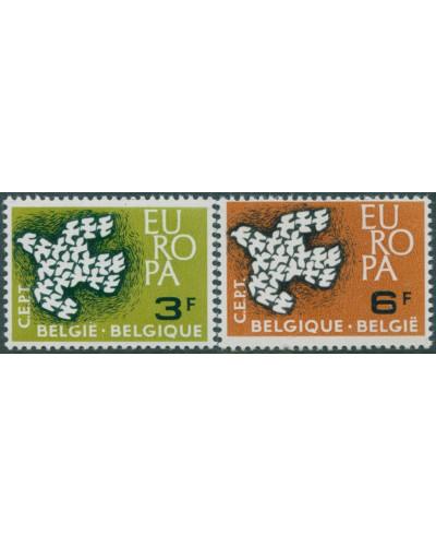 Belgium 1961 SG1793-1794 Europa set MNH