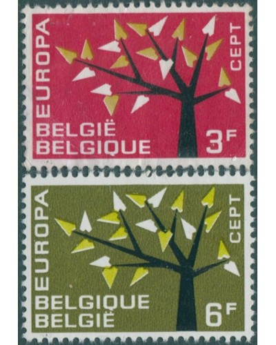 Belgium 1962 SG1822-1823 Europa set MNH