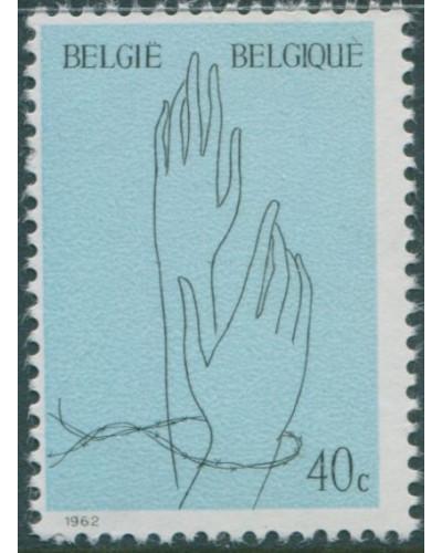 Belgium 1962 SG1824 40c Captive Hands MNH