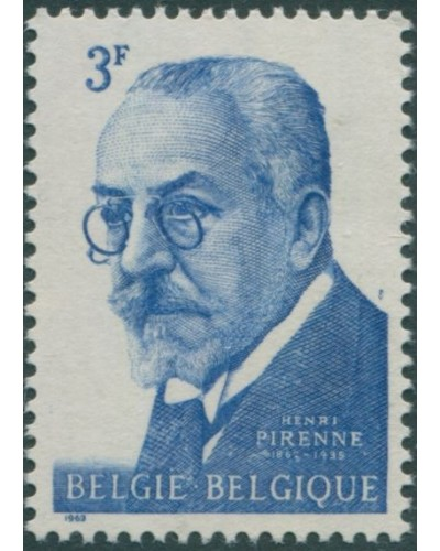 Belgium 1963 SG1841 3f Henri Pirenne historian MNH