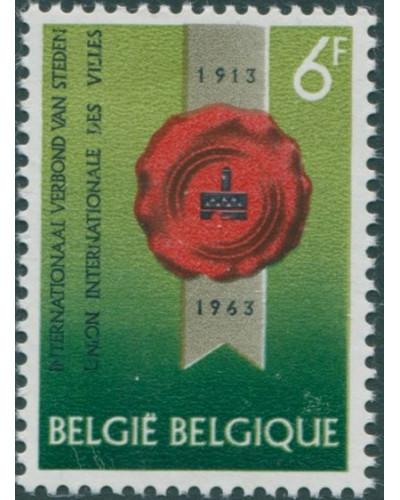 Belgium 1963 SG1856 6f Town Seal MNH