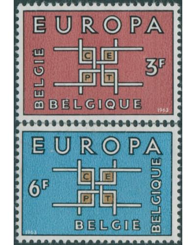 Belgium 1963 SG1862-1863 Europa set MNH