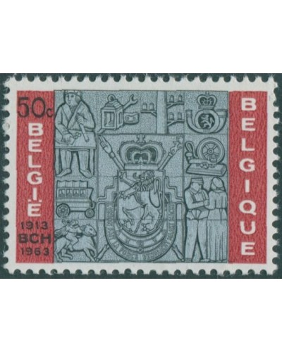 Belgium 1963 SG1873 50c Postal Cheques Office MNH