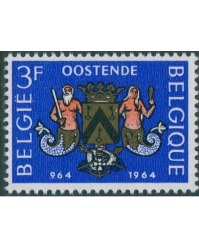 Belgium 1964 SG1889 3f Ostend Arms MNH