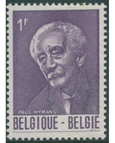 Belgium 1965 SG1919 1f Paul Hymans statesman MNH