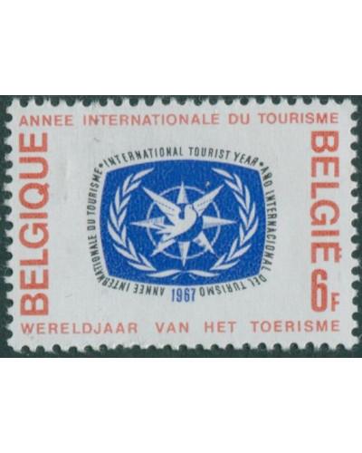 Belgium 1967 SG2007 6f ITY emblem MNH