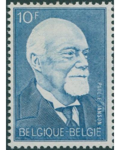 Belgium 1967 SG2011 10f Paul-Emile Jnason statesman MNH