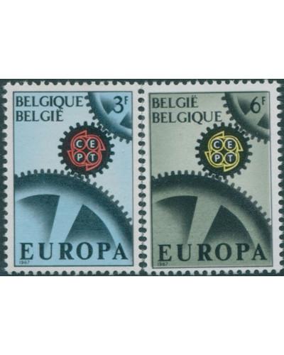 Belgium 1967 SG2013-2014 Europa set MNH