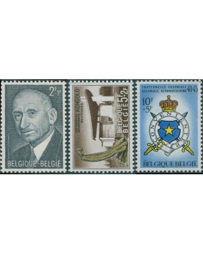 Belgium 1967 SG2022-2024 Charity set MNH