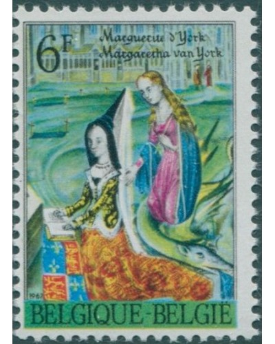 Belgium 1967 SG2035 6f Princess Margaret of York MNH