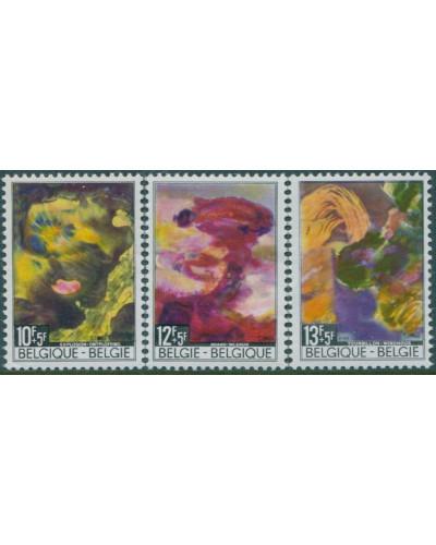 Belgium 1968 SG2085-2087 Disasters set MNH