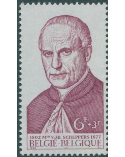 Belgium 1969 SG2119 6f+3f Monseigneur Victor Scheppes MNH