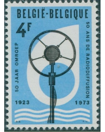Belgium 1973 SG2327 4f Early Microphone MNH