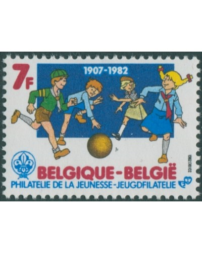 Belgium 1982 SG2712 7f Philately for the young MNH