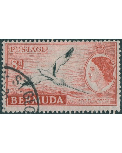 Bermuda 1953 SG143A 8d Phaeton Flavirostris FU