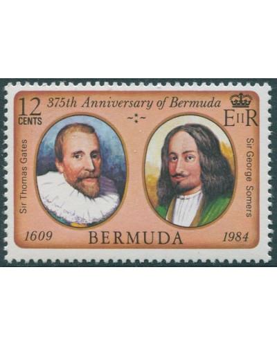 Bermuda 1984 SG473 12c First Settlement MNH