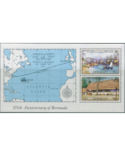 Bermuda 1984 SG477 First Settlement MS MNH