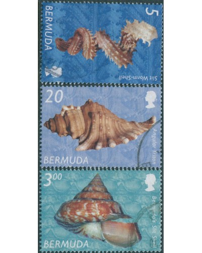 Bermuda 2002 SG892-906 Shells FU