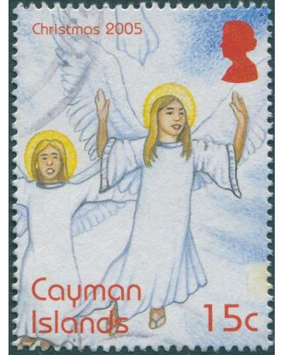Cayman Islands 2005 SG1083 15c Christmas FU