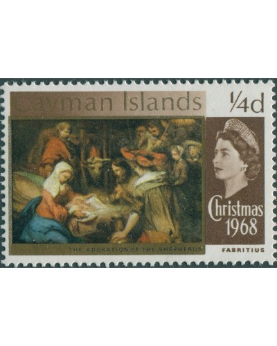 Cayman Islands 1968 SG215 ¼d Christmas MNH