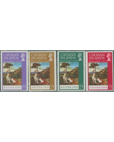 Cayman Islands 1970 SG262-265 Easter set MLH