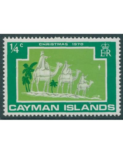 Cayman Islands 1970 SG288 ¼c Christmas MNH