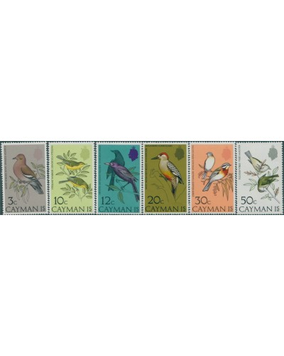 Cayman Islands 1974 SG337-342 Birds set MNH