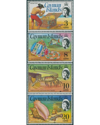 Cayman Islands 1974 SG347-417 QEII Treasure MNH