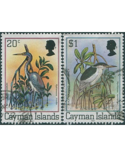 Cayman Islands 1980 SG519A-523A Birds FU