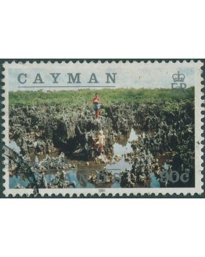Cayman Islands 1991 SG733 90c View of Hell FU