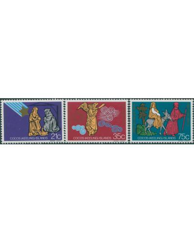 Cocos Islands 1982 SG100-102 Christmas set MNH