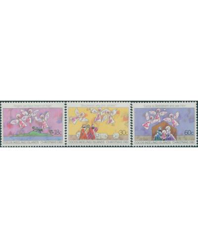 Cocos Islands 1981 SG72-74 Christmas set MNH