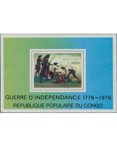 Congo 1970 SG551 American Revolution MS MNH
