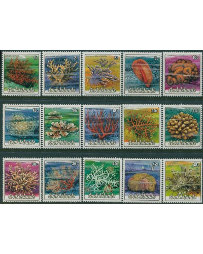 Cook Islands 1984 SG966-980 Corals to 48c MNH