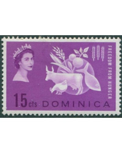 Dominica 1963 SG179 15c Freedom from Hunger MH