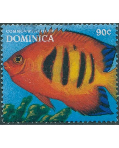 Dominica 1996 SG2185 90c Flame angelfish FU
