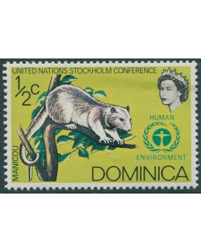Dominica 1972 SG352 ½c Common Opussum MNH
