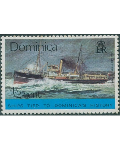 Dominica 1975 SG467 ½c Cargo liner MLH