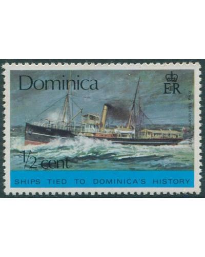 Dominica 1975 SG467 ½c Cargo Liner MNH